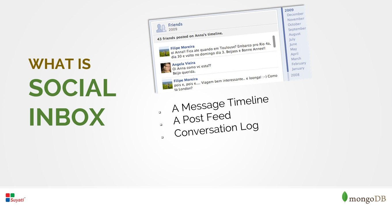 Building social inbox using MongoDB