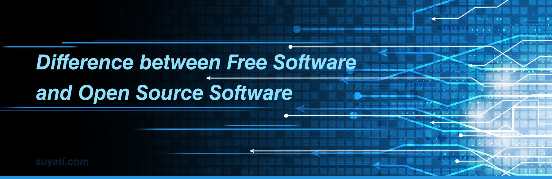 Free Software and Open Source Software