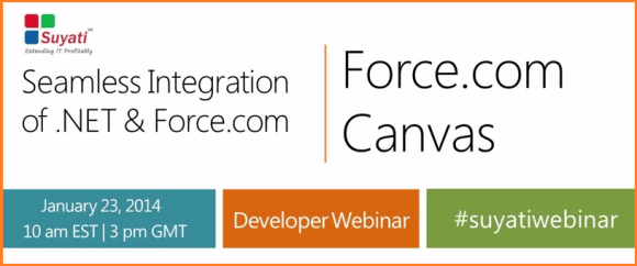 Seamless Integration of .Net with Force.com Canvas – Salesforce Webinar