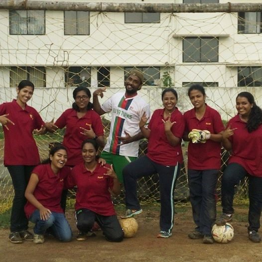 Practice makes man perfect. Or in this case, it made the women footballers at Suyati invincible!