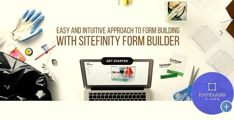 creating fully customized forms for landingpages are lot more easier with sitefinity-min