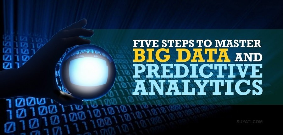5 steps to master big data and predective analytics