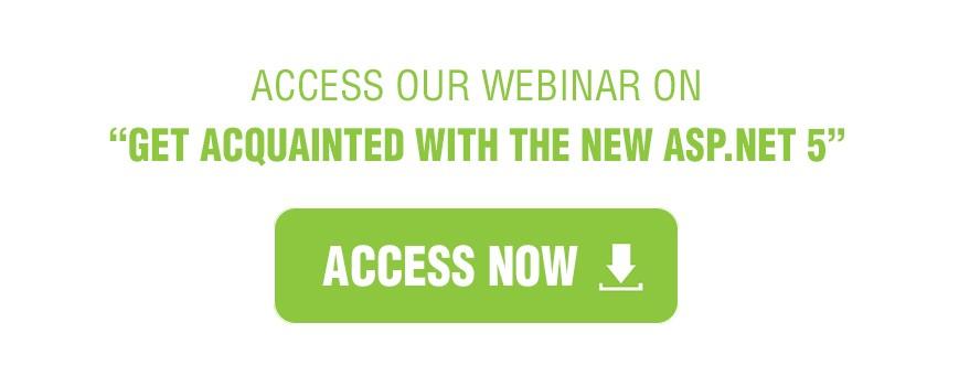 ASP.NET 5 access banner