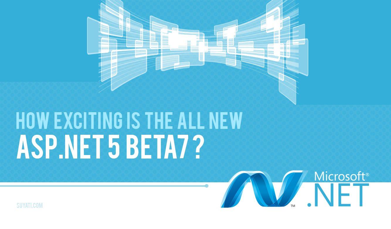 asp.net5 beta7-suyati