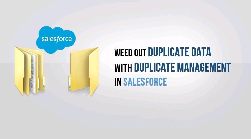 duplicate management salesforce