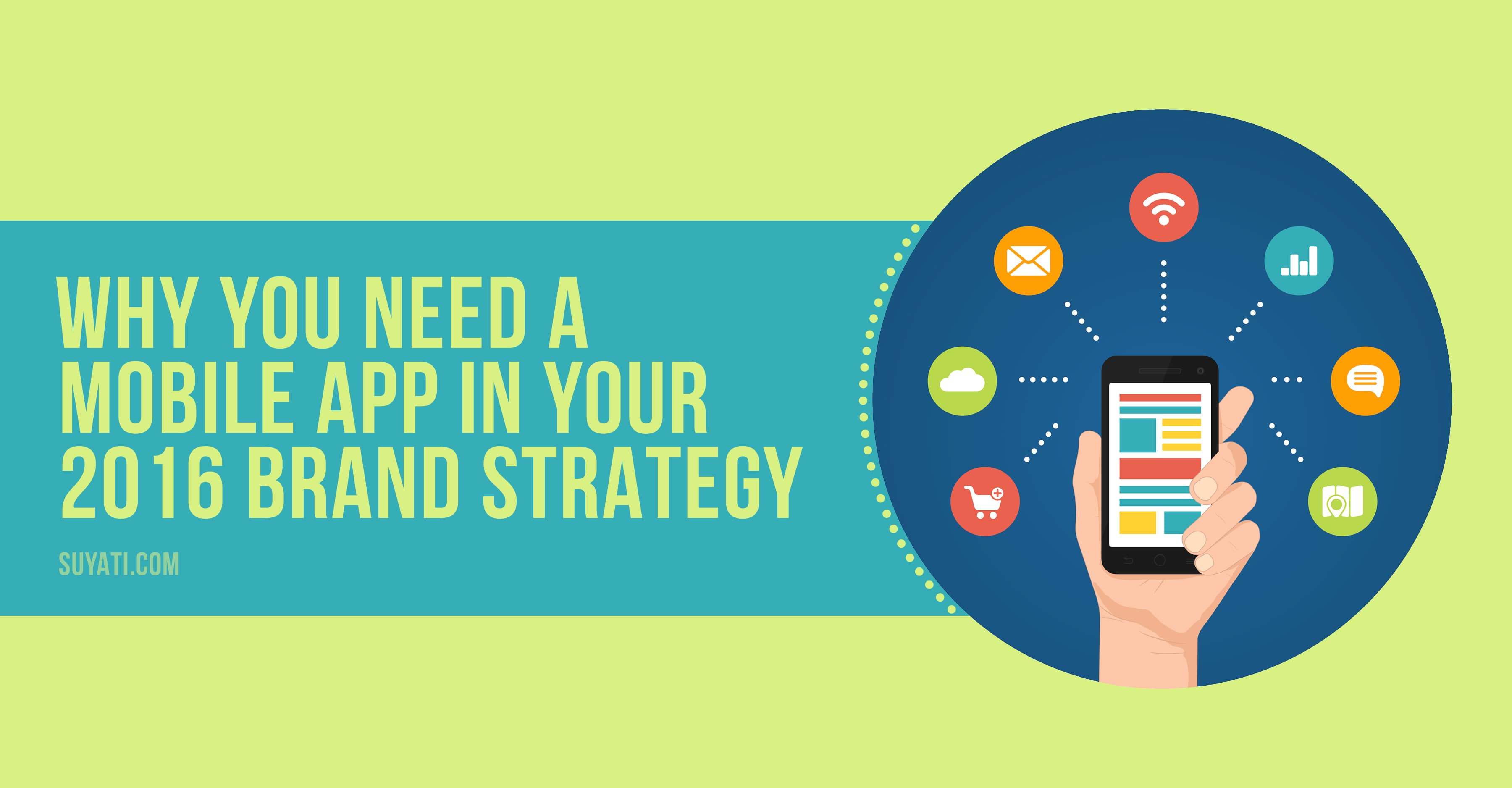 mobile app in your 2016 brand strategy