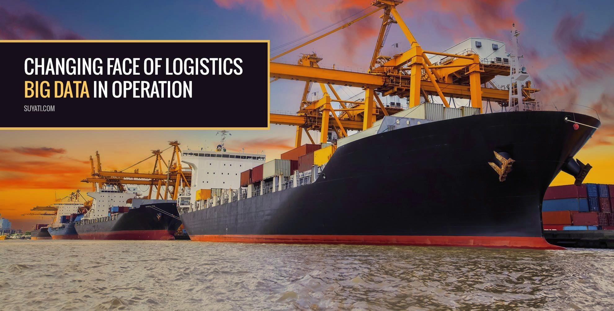 Advanced Logistics with Big Data