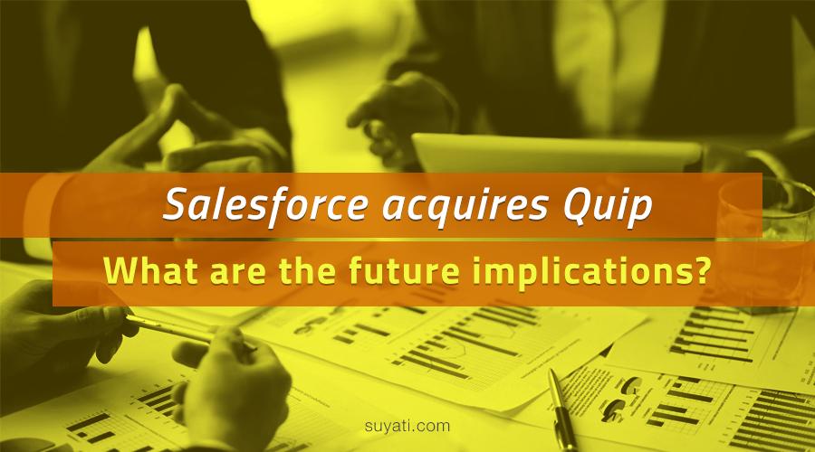 Salesforce acquires Quip