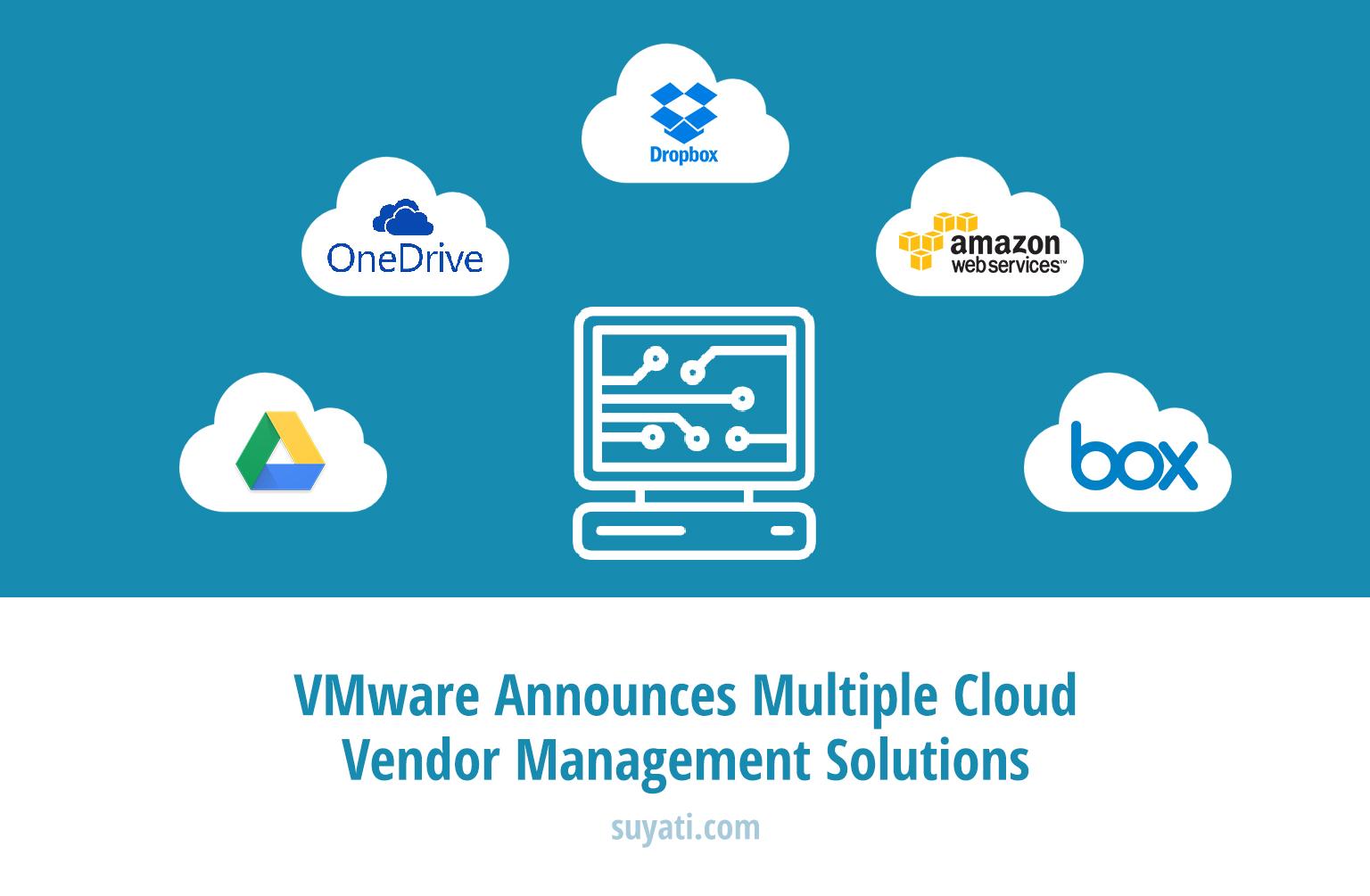 VMware announces multiple cloud vendor management solutions
