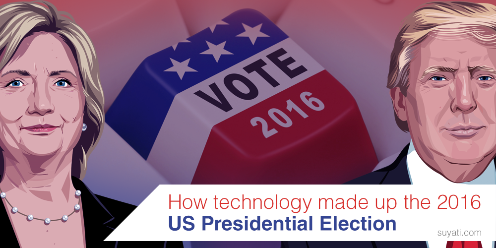 How technology made up the 2016 US Presidential Election