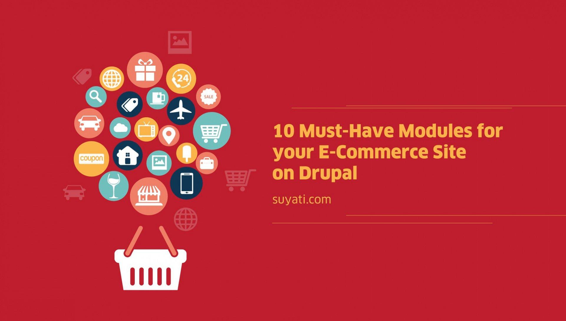 10 ecommerce solutions for your Drupal website
