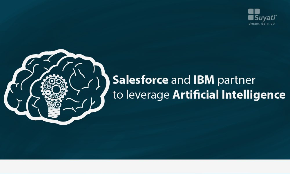 Salesforce and IBM partner to leverage Artificial Intelligence