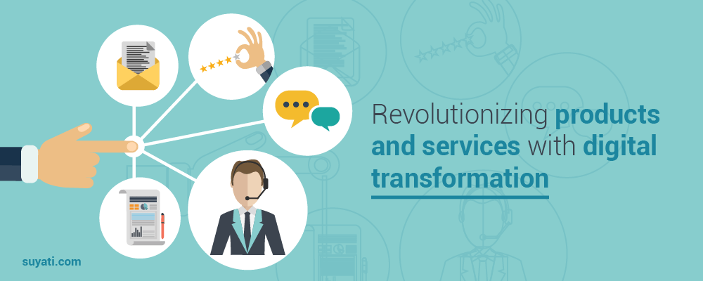 digital transformation in products &services