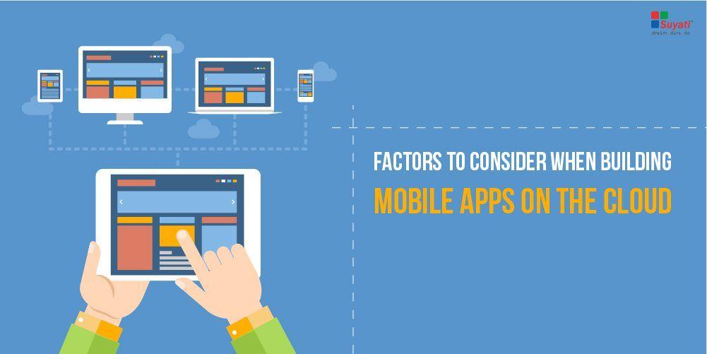 cloud mobile app