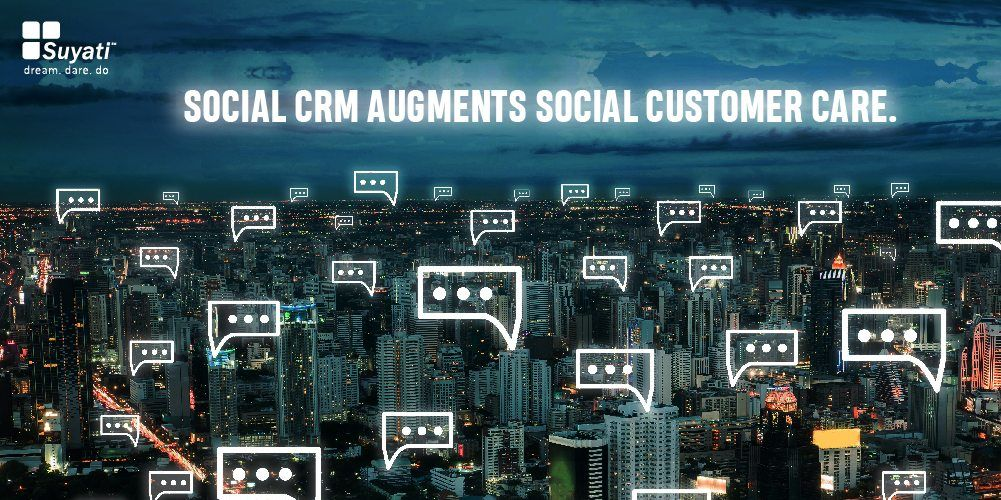What can social CRM software help your business accomplish