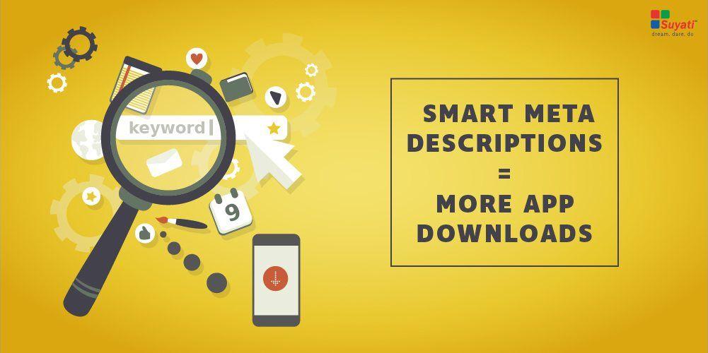 Secret to app store optimization? Smart meta descriptions