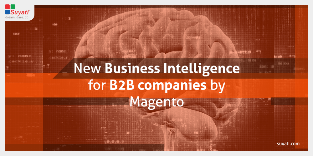 New Business Intelligence for B2B companies by Magento