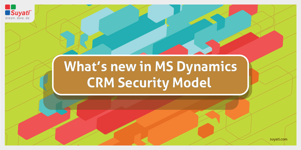 M S Dynamics CRM Security Model