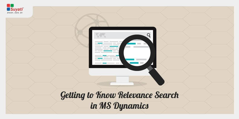 Make it easy with Relevance Search – Dynamics 365