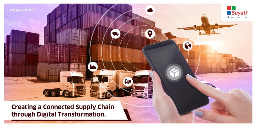 How to create a connected supply chain with Digital Transformation