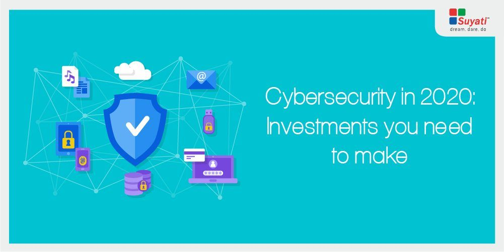 Top 5 cybersecurity investments that every organization needs to make by 2020