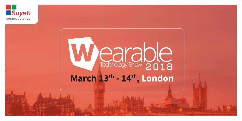 Wearable Technology Show to be held in London from March 13-14th