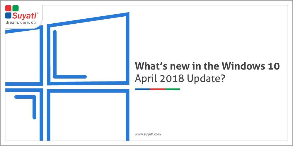 What is new in the Windows 10 April 2018 Update?