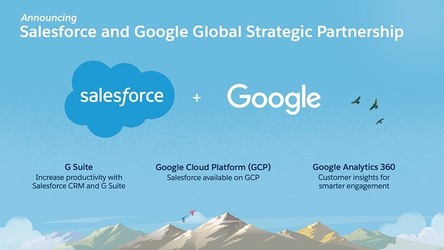 Google Global Strategic Partnership with Salesforce