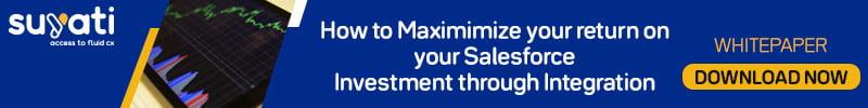 Maximize Salesforce Investment through Integration