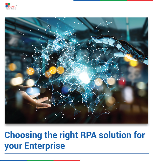Choosing the right RPA solution for your enterprise– eBook